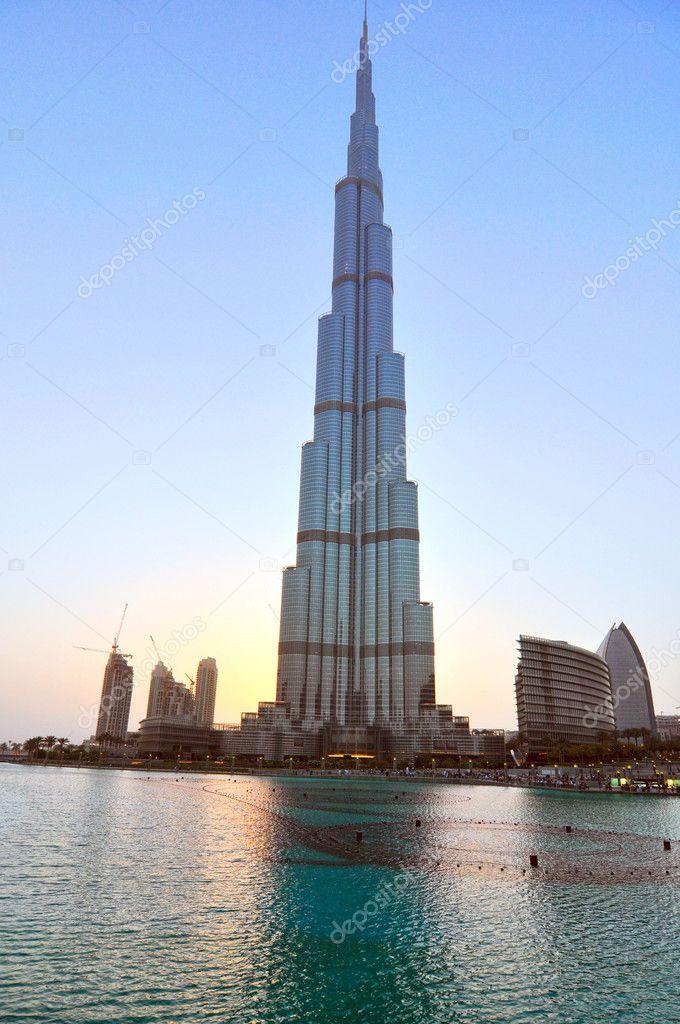 DUBAI  UAE  -June 3  Burj Dubai - tallest building in the world  at    Uae Tallest Building In The World