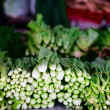 Stock Photo: Herbs at market