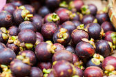 Mangosteen fruits — Stock Photo