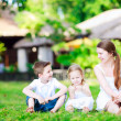 Summer family portrait — Stock Photo #11276638