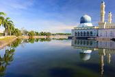 Floating Mosque in Kota Kinabalu — Stock Photo