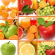 Fresh fruit and juice — Stok fotoğraf