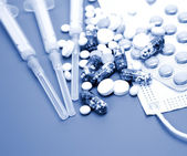 Tematy dla leczenia chorób — Zdjęcie stockowe