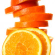 Stock Photo: Ripe oranges