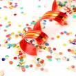Confetti and streamer — Stock Photo #11348234