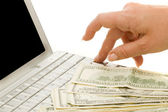 Electronic payments — Stock Photo