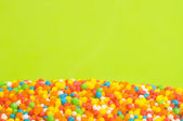 Colored candy background — Stock Photo