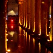 Turkey. Istanbul. Underground basilica cistern. Byzantine water reservoir build by Emperor Justinianus - Stock Photo