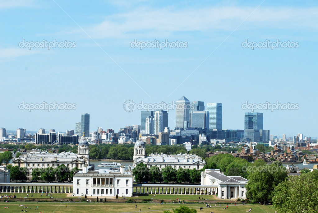 Royal Naval College in Greenwich in London, England - Stock Photo — Stock Photo #11974193