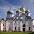 St. Sophia Cathedral. Kremlin Detinets. Novgorod. Russia - Stock Photo