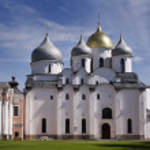 St. Sophia Cathedral. Kremlin Detinets. Novgorod. Russia — Stock Photo