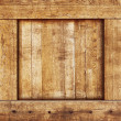 Vintage wood box — Stock Photo