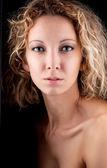 Portrait of woman — Stock Photo