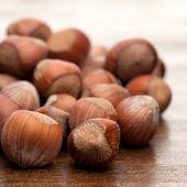 Nutsnuts auf Holztisch — Stockfoto