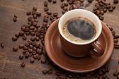 Filiżankę kawy — Zdjęcie stockowe