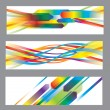 Set of abstract vector backgrounds — Stock Vector #12313665