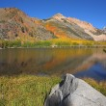 North Lake and White Rock — Stock Photo
