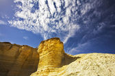 Freakish hills from sandstone — Stock Photo