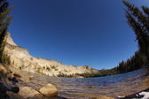 The lake May in Yosemite. — Stock Photo