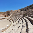 The seats and a stage in the Roman amphitheater — Stock Photo