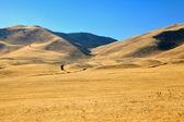 Autumn picturesque hills — Stock Photo