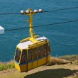 The  cable car in entertaining center on  border of Israel — Stockfoto