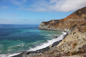 Azure ocean surf on the spectacular shores — Foto Stock