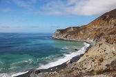Azure ocean surf on the spectacular shores — Zdjęcie stockowe