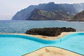 Malerisch, den wunderlichen form swimmingpool — Stockfoto