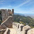 The ruins of the Moorish fortress — Stock Photo