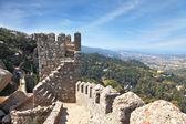 The ruins of the Moorish fortress — Стоковое фото