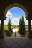 知名 monastery latroun 在以色列的 — 图库照片