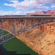 Stock Photo: Sleek bridge across Colorado