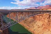 Sleek bridge across Colorado — Stock Photo