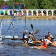 VELIKY NOVGOROD, RUSSIA - JUNE 10: The second stage of the Cup o - Stock Photo