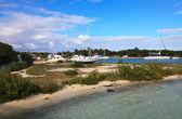 Zeehaven op cayo guillermo. — Stockfoto