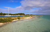 Seaport on Cayo Guillermo. — Stock Photo