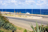 Malecon waterfront — Stock Photo