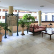 Reception of NH Parque Central. — Stock Photo