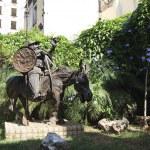 ������, ������: Sculpture of Sancho Panza