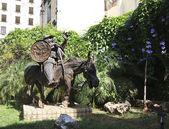 Sculpture of Sancho Panza — Stock Photo