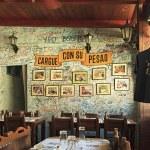 Restaurant-bar La Bodeguita del Medio. — Stock Photo