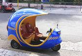 Coco taxi — Stock Photo