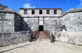 Oldest fortress in Cuba - castillo de la Real Fuerza. — Stock Photo