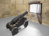 Guns of the castillo de la Real Fuerza. — Stock Photo