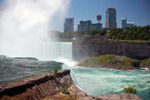 Niagara Falls, Ontario Skyline — Stock Photo