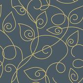 Padrão de papel de parede sem emenda — Vetorial Stock