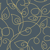 Seamless wallpaper pattern — Vettoriale Stock