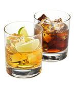 Whiskey a cola koktejly — Stock fotografie