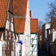 Old town street in Klaipeda, Lithuania — Stock Photo